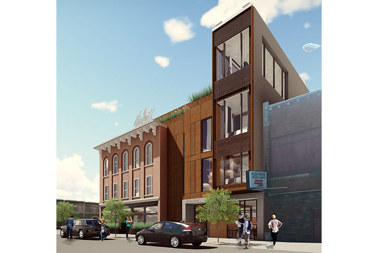 Ben Herring helped design the upcoming Hulett in Ohio City