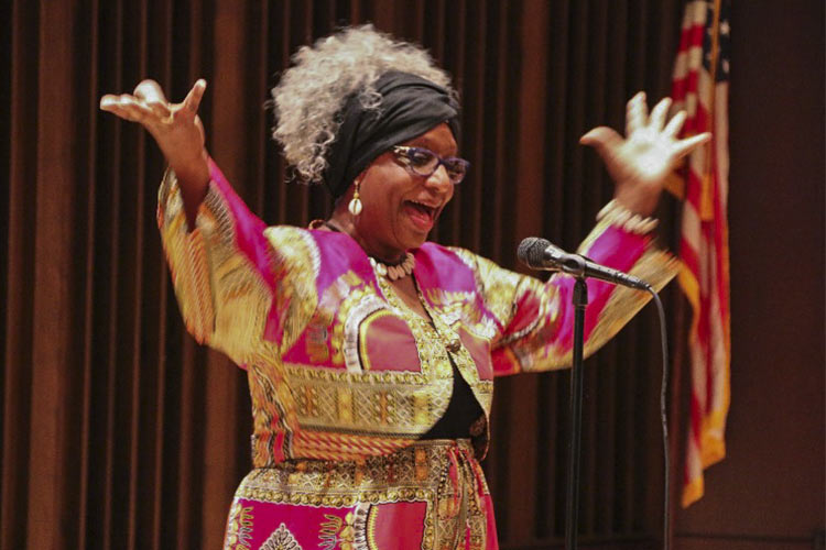 Storyteller, Jocelyn Dabney - Cleveland Association 2017 Black Storytelling Week