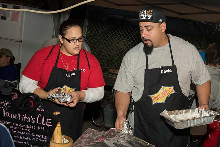 Alysia Montanez and David Perez of Panchita's