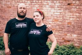 Gavin and Brooke Lehman of Cleveland Blacksmithing, LLC