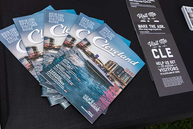 Visit Me in CLE promotional materials