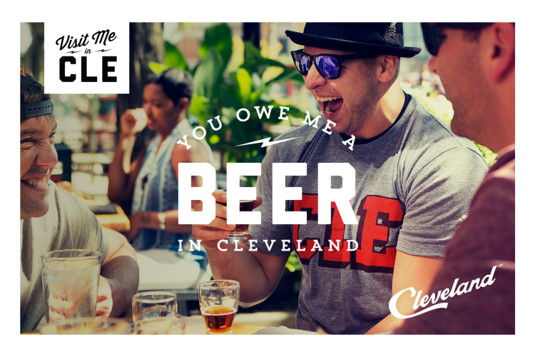 Visit Me in CLE promotional postcard