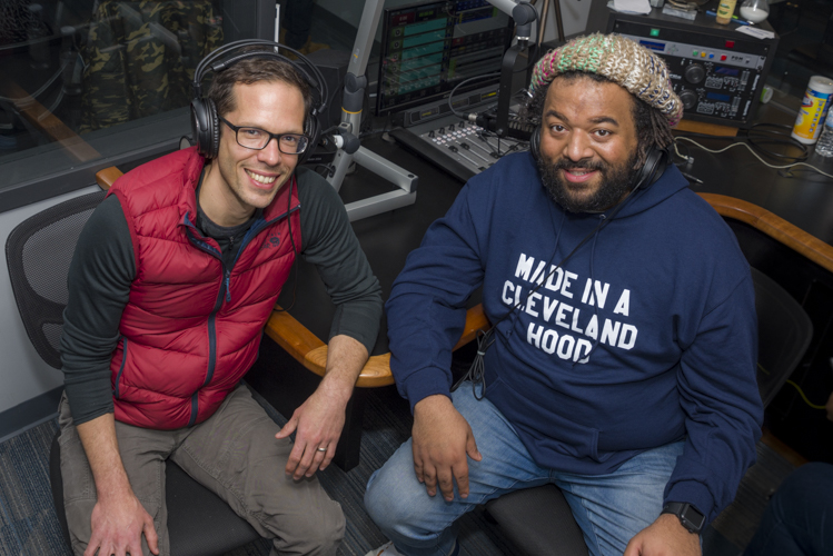 Justin Glanville and Julian Khan of This Is Shaker Square: The Podcast, on the Sidewalk podcast feed