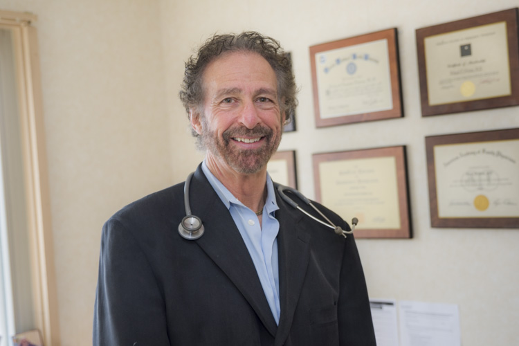 Medical Director Rick Frires, MD of Caritas Treatment and Wellness Center