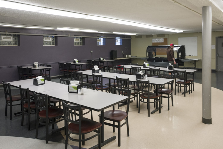 The cafeteria at the Stella Maris Campus