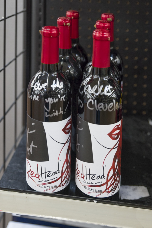 Red Head Wine now at Walmart
