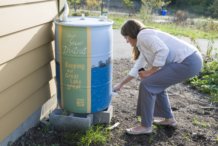 Rain barrels are an easy way to save on your water bill while reducing stormwater runoff. The city of Cleveland offers free workshops on how to get started.