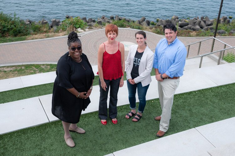 Fresh Innovators award winners Jacqueline Gillon, Shelly Gracon, Stephanie Buda and Tom Gill.