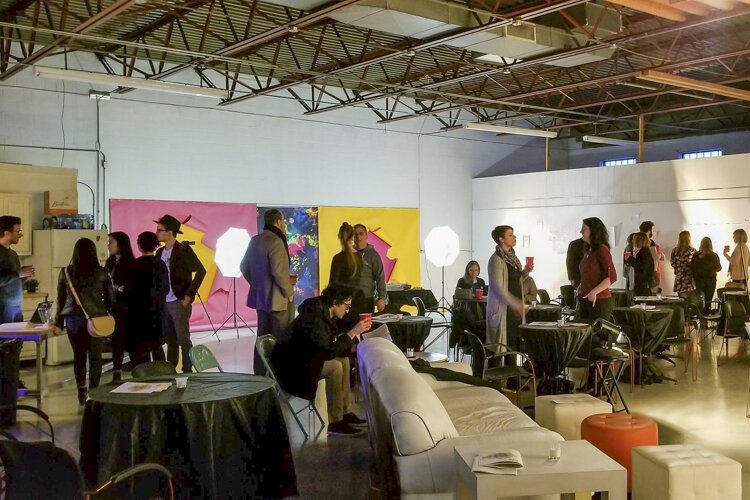 Fp Creative sponsored a social hour around Burning River Baroque's February 2019 event.