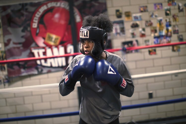 "Kayla ""Sweet Baby"" Huff is ranked second in the nation in her boxing category."