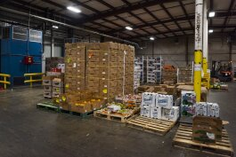 Central Kitchen's produce warehouse at 7501 Carnegie Ave.