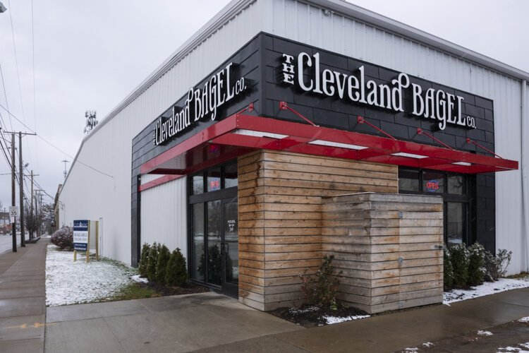 Cleveland Bagel, one of the first retail outlets at Central Kitchen.