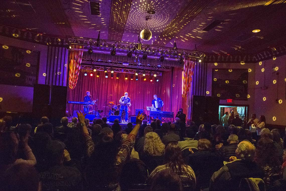 Dr. Joe  & the Squeeze Play Band perform at Concert for Truth at the Beachland Ballroom