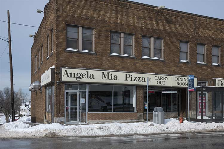 Angela Mia Pizza in East Cleveland