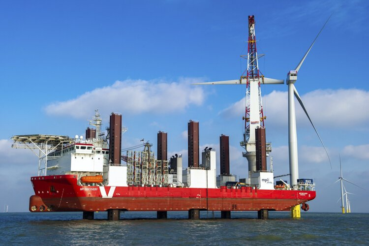The London Array offshore wind project offers a glimpse into what the CLE project may look like