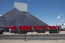 Rock Hall Plaza - Long Live Rock