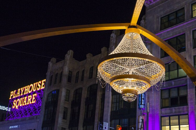 GE Chandelier at Playhouse Square