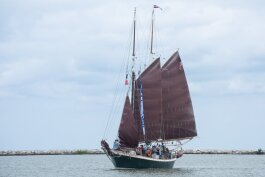 Inland Seas, the Suttons Bay, Michigan schooner launched in 1994