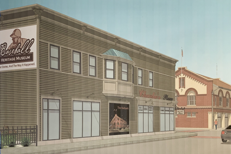 Zimmer rendering of the Baseball Heritage Museum expansion