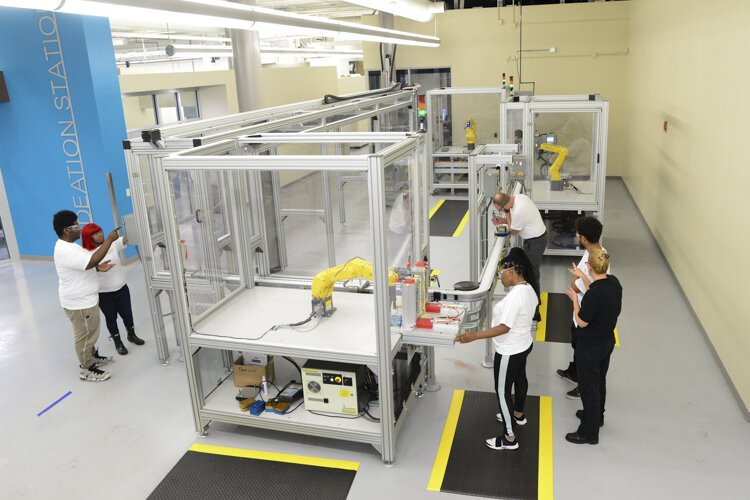 Cuyahoga Community College's Manufacturing Technology Center of Excellence is taking a proactive approach with workshops, training, certifications, and even associate degrees in manufacturing and operations engineering technology.