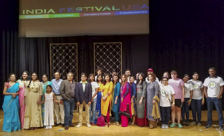 India Festival USA was founded 10 years ago by Bharat Kumar.