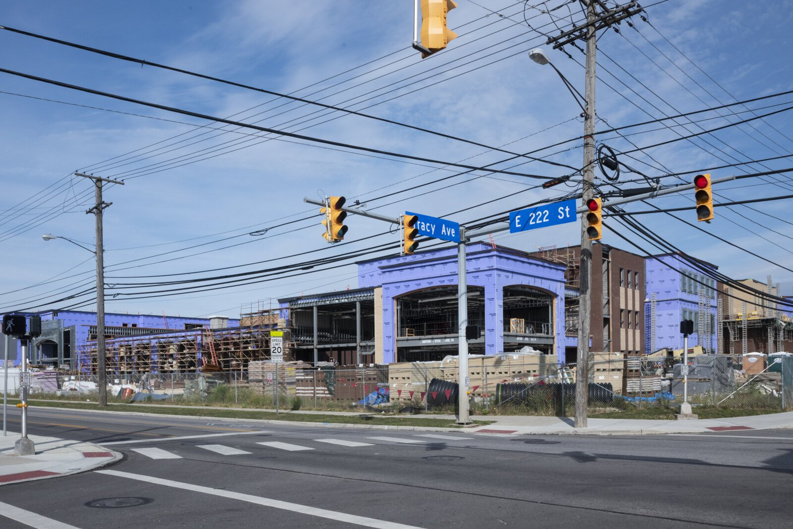 Construction on Euclid High School is set for completion in time for the 2020-2021 school year.