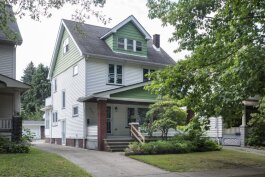 This fully rehabbed house at 6902 Indiana Ave. in Slavic Village is for sale for $89,900.