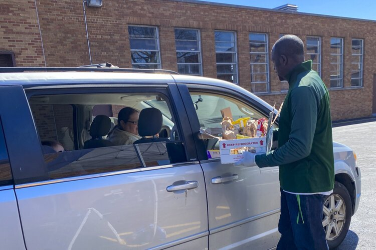 Every Monday, Wednesday, and Friday, parents and their kids in The Bedford City School District can pick up two days' worth of breakfasts and lunches at one of 13 locations throughout the four cities in the district.