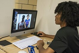 Online learning, a high-tech approach to higher education.