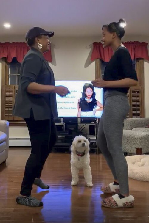 Ballet dancer, teacher, and director, Lexy Lattimore and her sister created a dance video and challenged others to do the same.