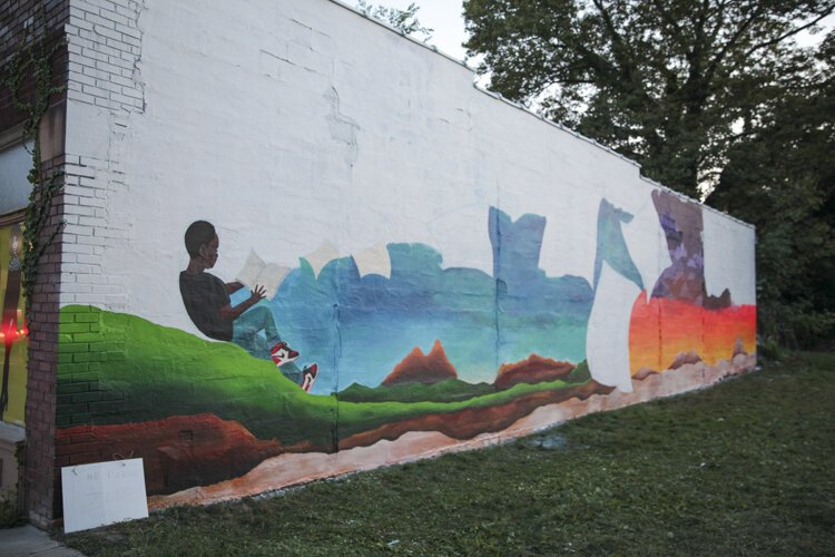 New mural project in the Waterloo Arts District