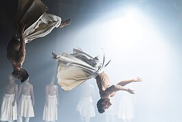 Compagnie Herve Koubi makes their Ohio debut with Dance Cleveland.