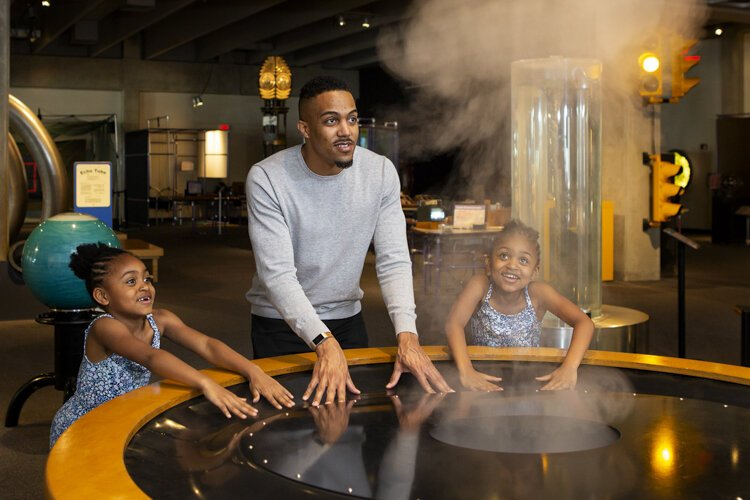 """We pulled out the big programs for a value-added weekend,"" says says Scott Vollmer, vice president of STEM learning for the Great Lakes Science Center."