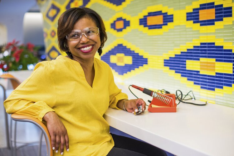 Sonya Pryor-Jones wants to introduce Glenville residents to digital fabrication.
