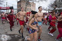Cupid's Undie Run Cleveland 2020