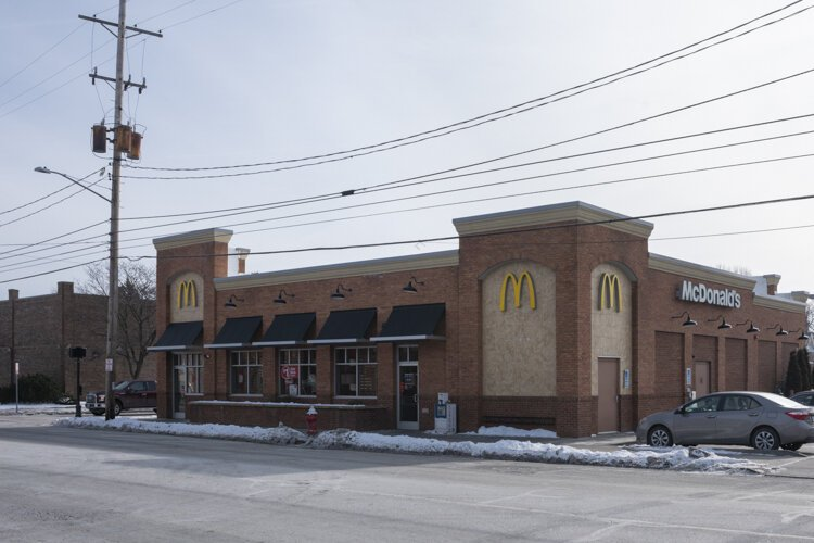 McDonalds in place of the Detroit Theater in Lakewood today.