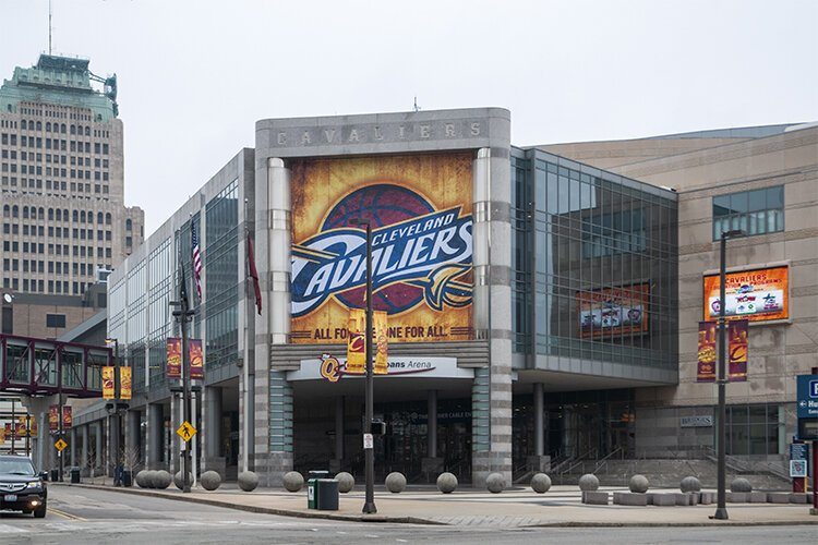 Quicken Loans Arena in 2012, now Rocket Mortgage FieldHouse
