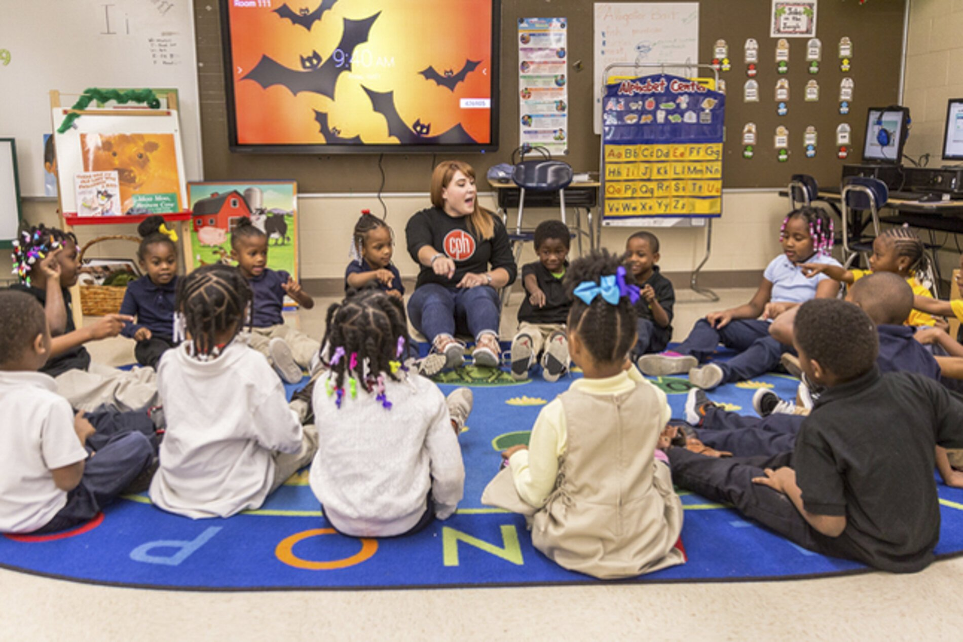 CARE is a theatre education program that draws on lessons from social-emotional learning theories, trauma-informed care, and evidence-based literacy learning for students in grades K-8.