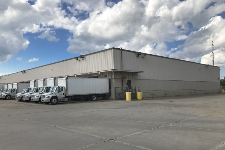 GOJO Industries is expanding sanitizer production in this 320,000-square-foot facility, at 5700 S. Lee Road in Maple Heights.