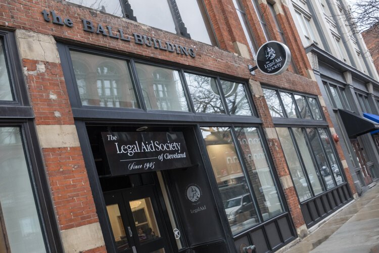 Legal Aid Society of Cleveland in the Ball Building on W. 6th Street downtown.