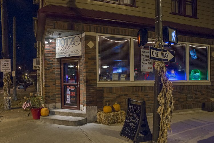 Tremont's Hotz Café, that's been run by a family for 100 years, overflows with history.