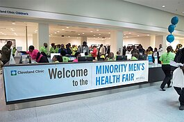2019 Cleveland Clinic Minority Men's Health Fair, which started in 2003 and now attracts about 1,500 men for health screenings and education