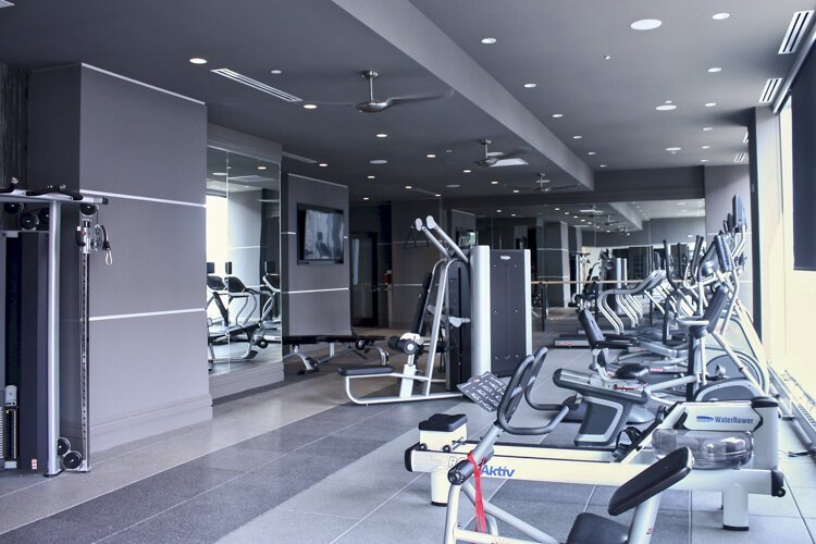 Fitness Room at The Lumen