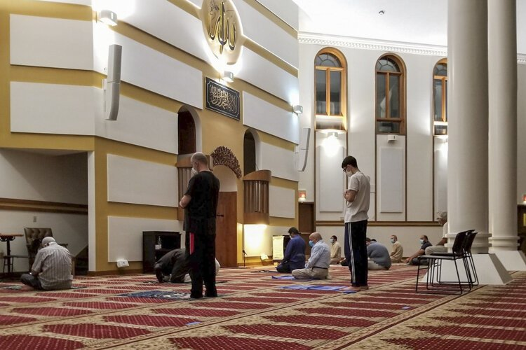 The Islamic Center Cleveland began offering streaming services in lieu of in-person prayers in March.