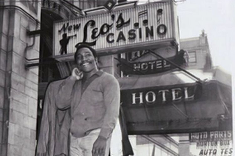 "The Greater Cleveland Urban Film Festival is screening our documentary ""Leo's Legacy"" about the legendary music venue Leo's Casino. Pictured is Eddie Levert of the O'Jays in front of the casino once located at 7500 Euclid Avenue from 1963 -1972."