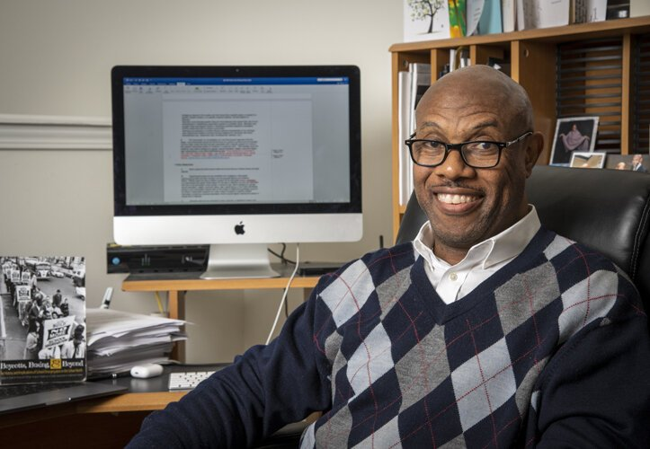 Dr. Ronnie Dunn is an associate professor of urban studies at Cleveland State University and the college's interim chief diversity and inclusion officer.