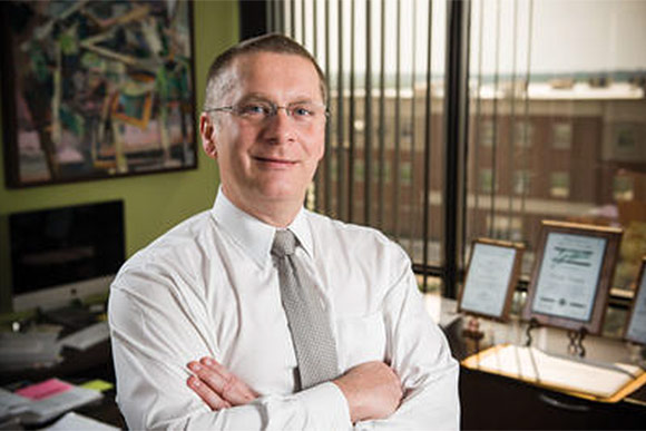 Timothy Broderick, chief science officer at the Wright State Research Institute and associate dean for research affairs at the Wright State Boonshoft School of Medicine