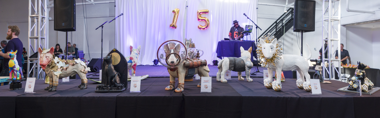 15th Annual Art Fur Animals Auction - Friends of the Cleveland Kennel Benefit <span class=&apos;image-credits&apos;>Bob Perkoski</span>