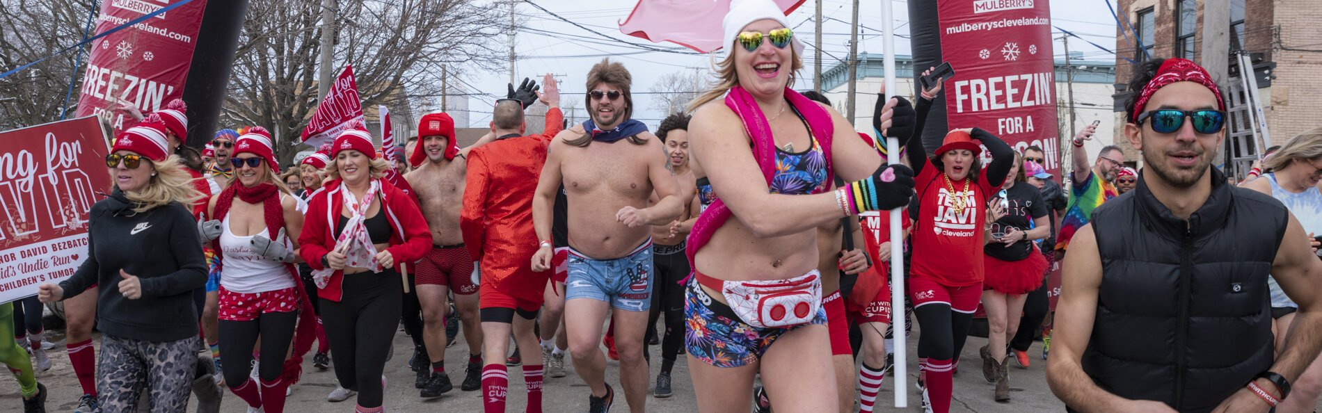 Cupid's Undies Run to fight neurofibromatosis