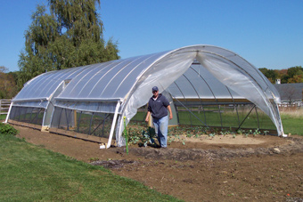 Local Hoop House Startup Growing Like A Weed